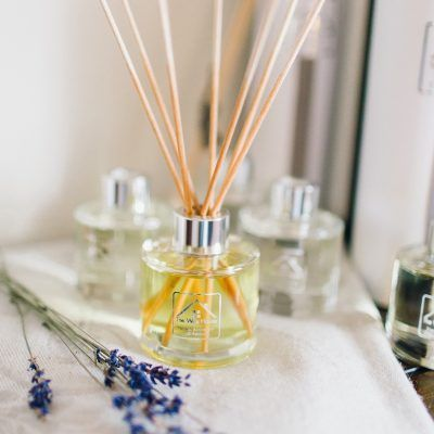 neroli rosemary amber reed diffuser dried lavender