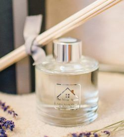 lime ylang ylang white rum reed diffuser dried lavender