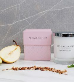 Wild Pear & Cedarwood Luxury Soy Candle