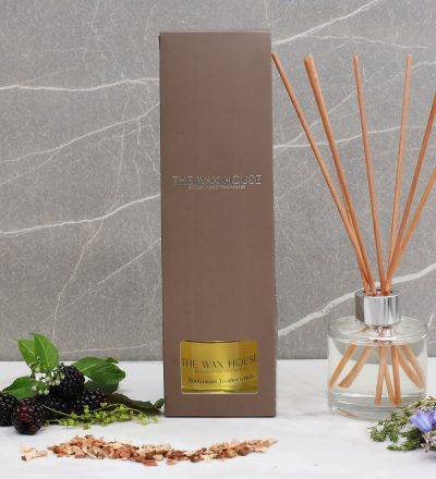 Blackcurrant Leather & Birch Luxury Fine Fragrance Reed Diffuser