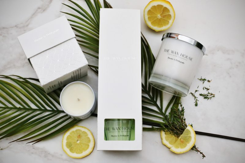 Thyme & Petitgrain Home Fragrance Collection