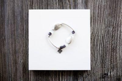 bead & bar bracelet
