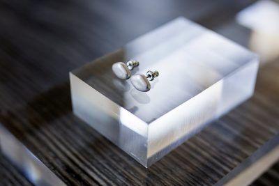 Pebble Stud Earring