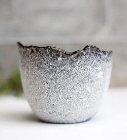 Grey & White Votive/Tea Light Holder