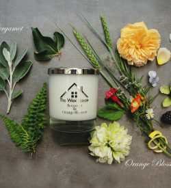 Luxury Candle Bergamot & Orange Blossom