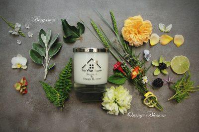Luxury Candle Bergamot & Orange Blossom