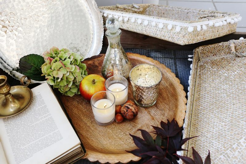 Natural Wood Tray