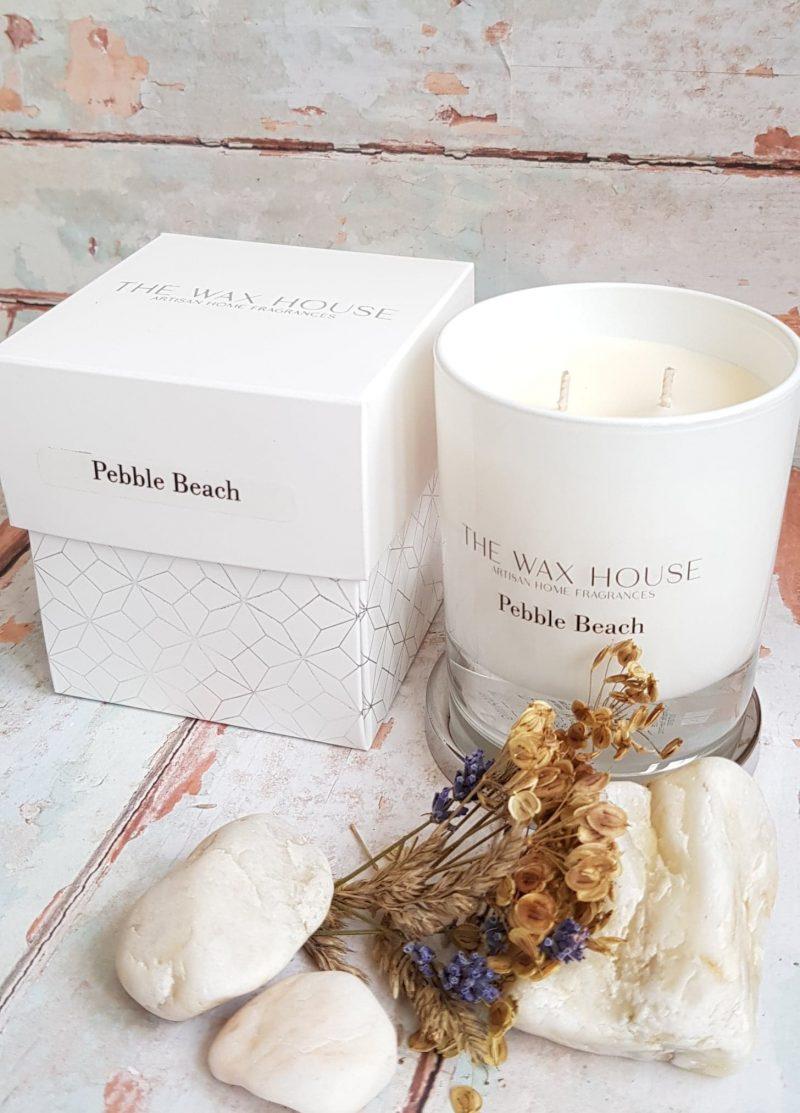 Pebble Beach Luxury Soy Candle